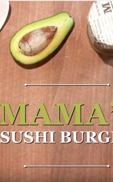 MAMA'S SUSHI BURGER [video]